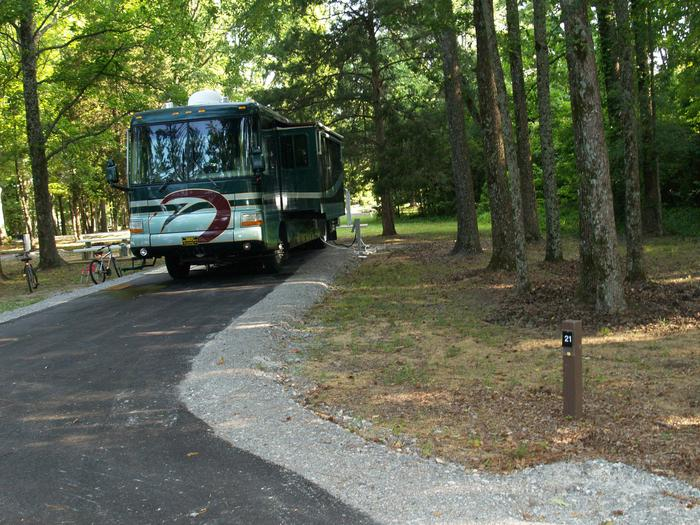 Hernando Point Campground Site 21