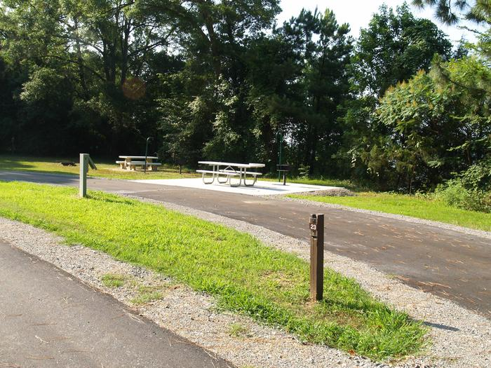 Hernando Point Campground Site 23