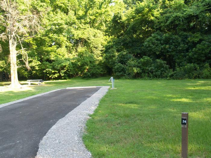Hernando Point Campground Site 24