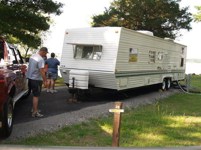 Hernando Point Campground Site 28