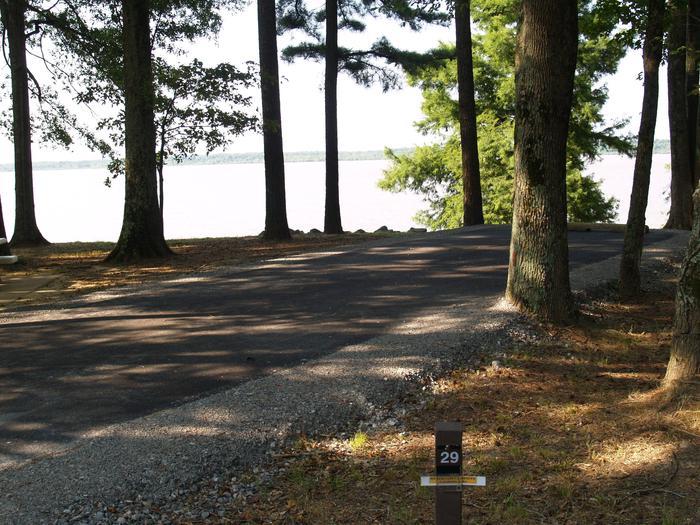 Hernando Point Campground Site 29