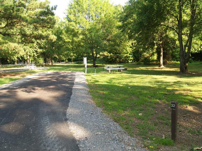 Hernando Point Campground Site 32