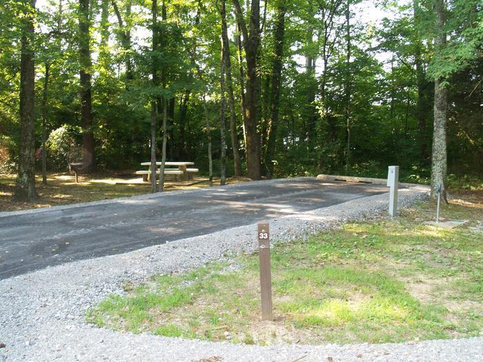 Hernando Point Campground Site 33