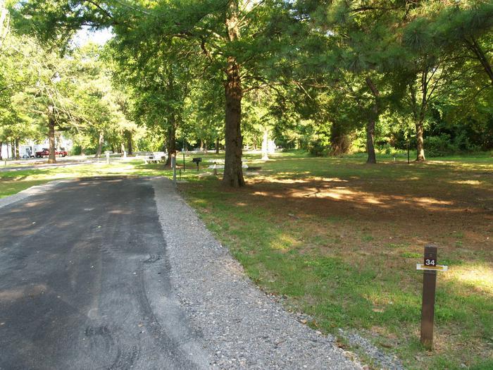 Hernando Point Campground Site 34
