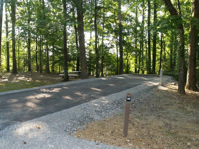 Hernando Point Campground Site 35