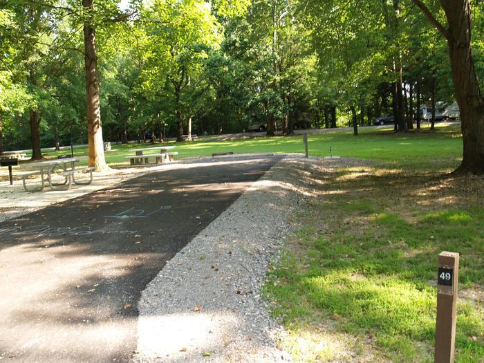Hernando Point Campground Site 49