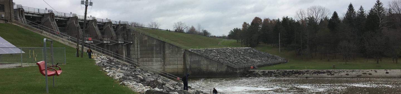 Delaware DamOverlook area