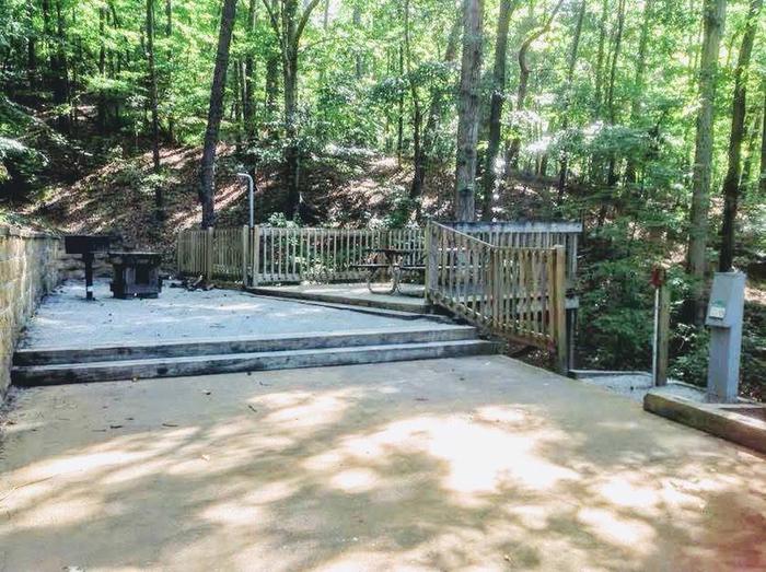Deerlick Creek Campsite 40 Picnic Area