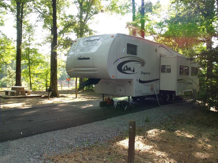 Hernando Point Campground Site 50