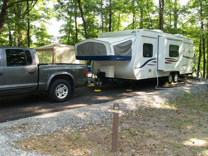 Hernando Point Campground Site 52