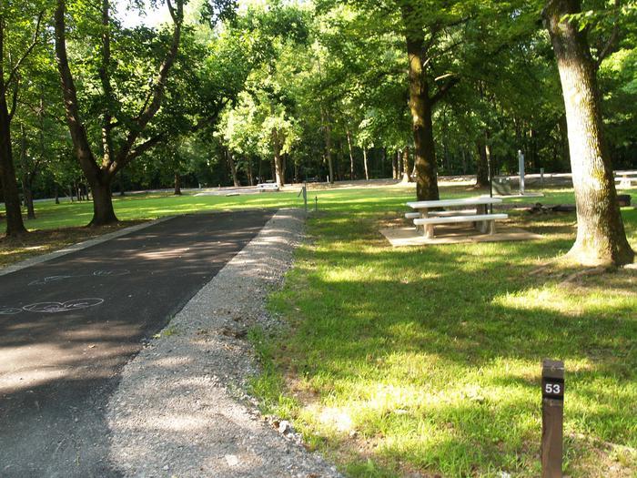 Hernando Point Campground Site 53