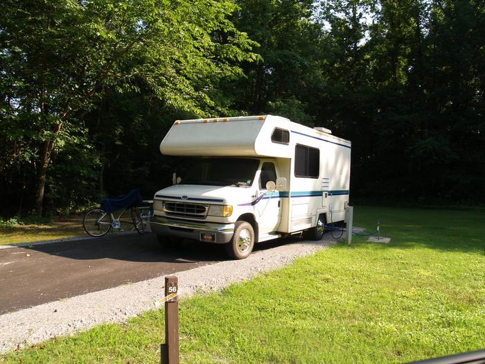 Hernando Point Campground Site 56