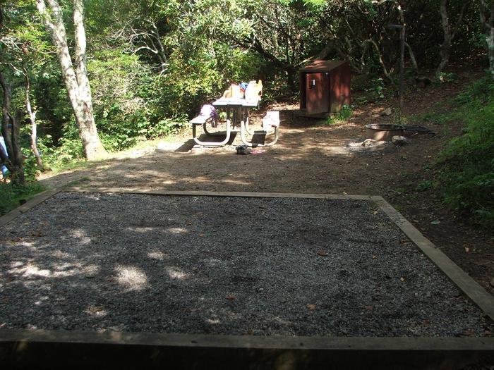 D Loop Site 8 - Tent Nonelectric