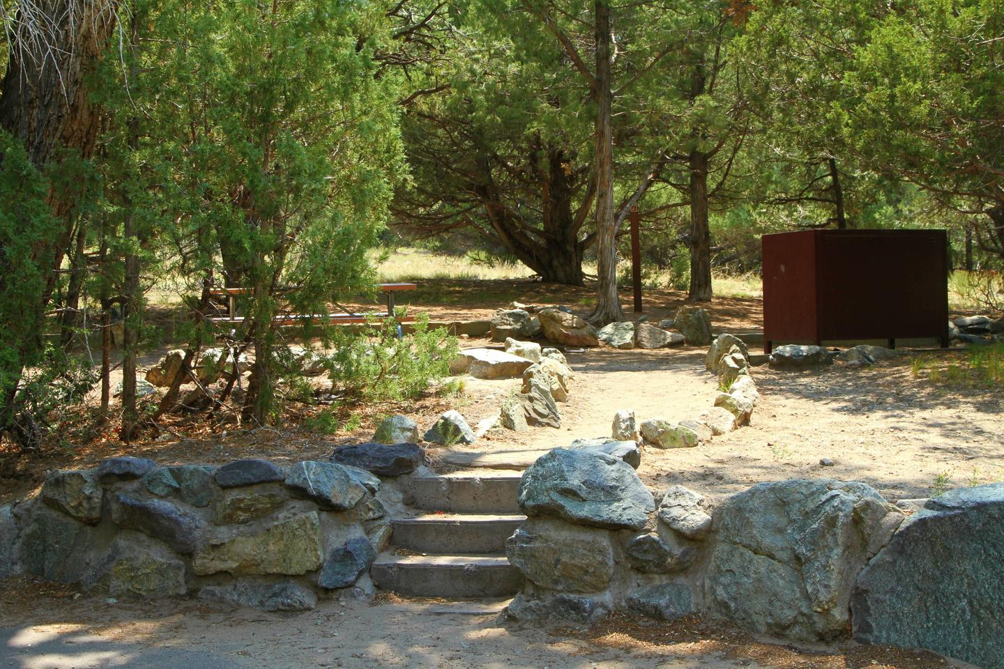Site #54, Pinon Flats Campground