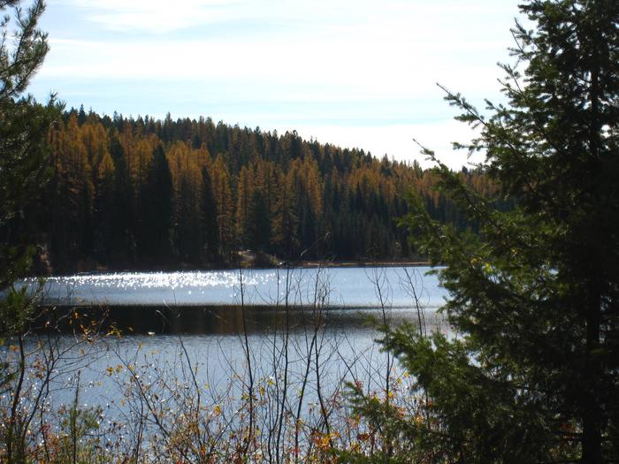 Lost Lake from shore
