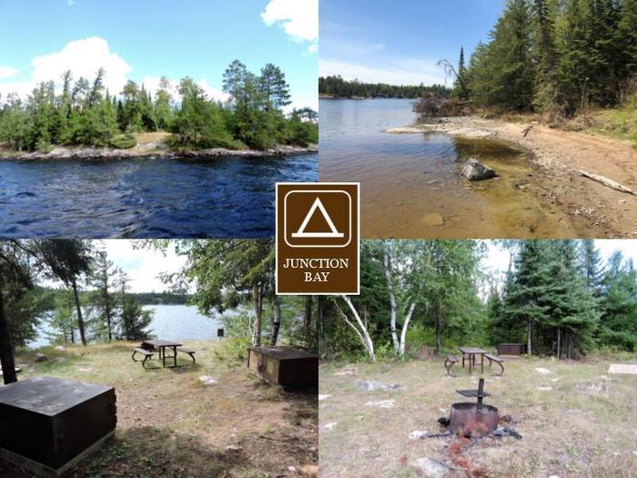 N14 - Junction BayN14 - Junction Bay campsite on Namakan Lake