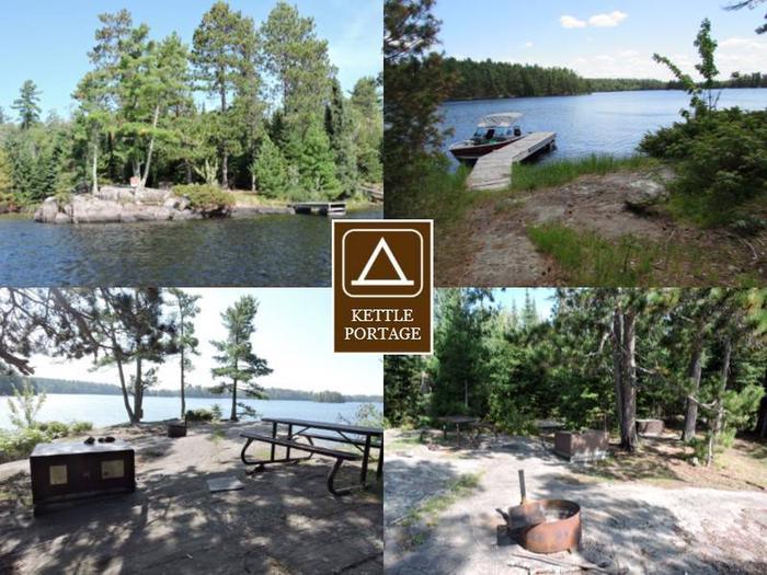 N16 - Kettle Portage N16 - Kettle Portage campsite on Namakan Lake