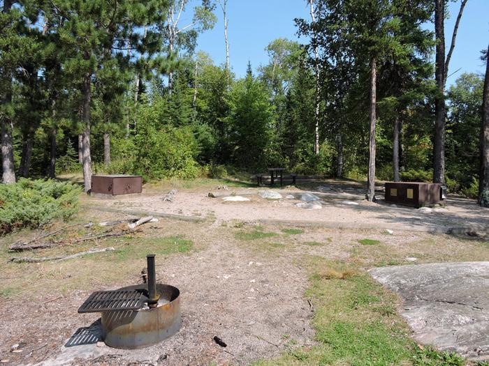 N18 - McManus Island West View of campsite