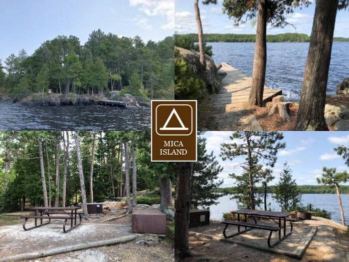 N20 - Mica Island N20 - Mica Island campsite on Namakan Lake