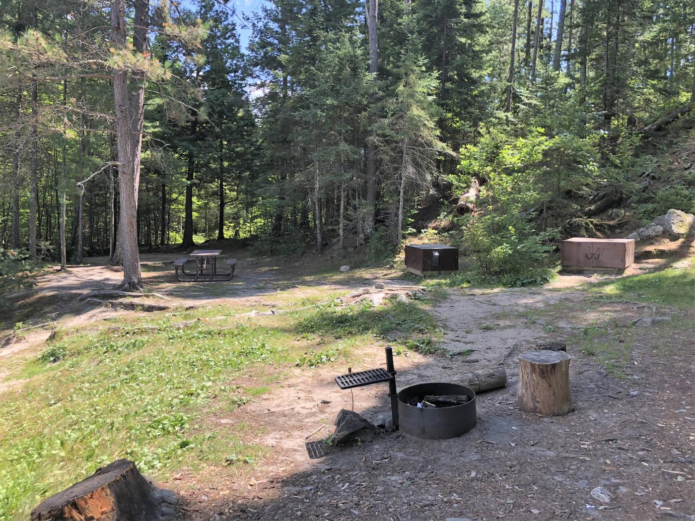 N25 - My Island WestView of campsite