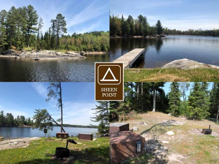 N38 - Sheen Point N38 - Sheen Point campsite on Namakan Lake