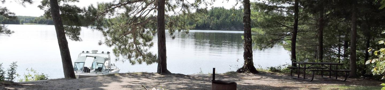 N47 - Wolfpack Island Central N47 - Wolfpack Island Central campsite on Namakan Lake