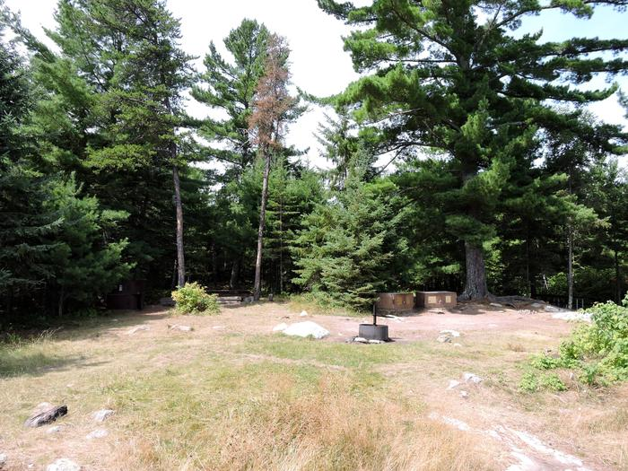 N55 - Namakan Island NortheastView of campsite