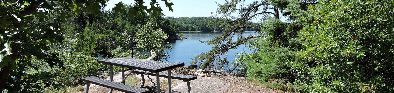 N59 - Hammer Bay SouthN59 - Hammer Bay South campsite on Namakan Lake