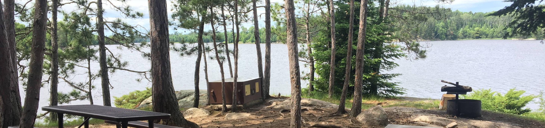 N61 - Williams Island NorthN61 - Williams Island North campsite on Namakan Lake