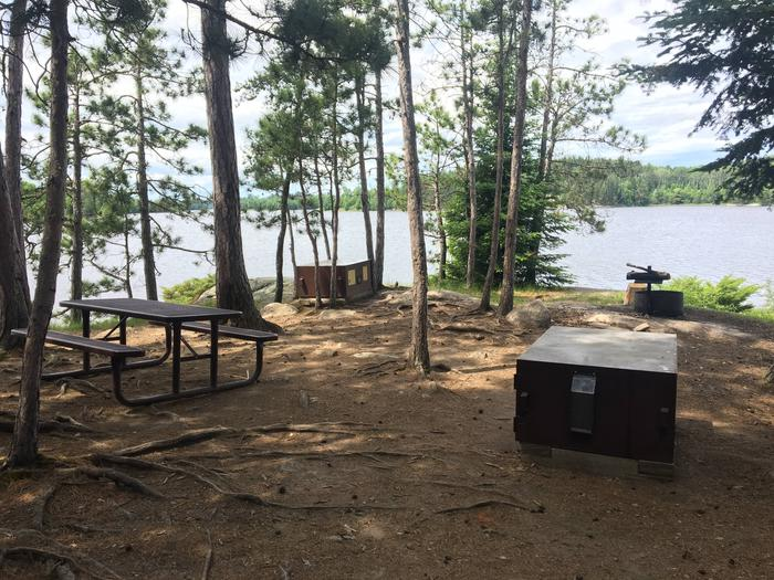 N61 - Williams Island NorthView looking out from campsite