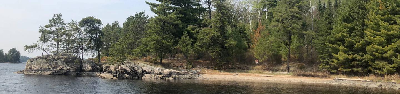 N63 - Namakan Island SouthN63 - Namakan Island South campsite on Namakan Lake