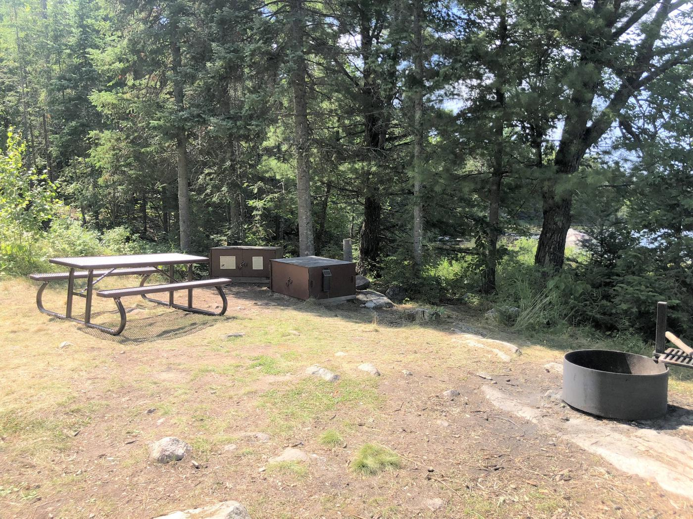 N69 - Hammer Bay PointView of campsite