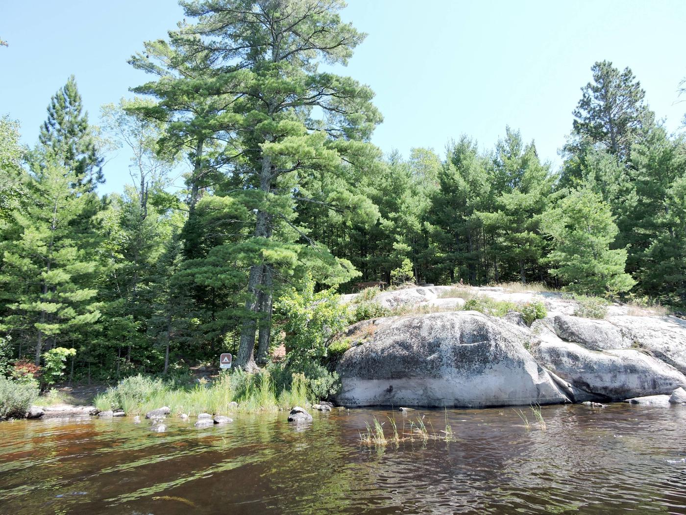 S5 - Feldt ChannelView of campsite from the water