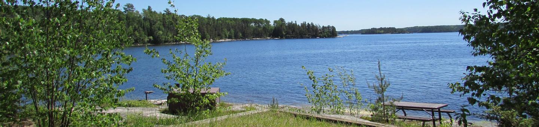 S6 - Granite Cliff NorthS6 - Granite Cliff North campsite on Sandpoint Lake