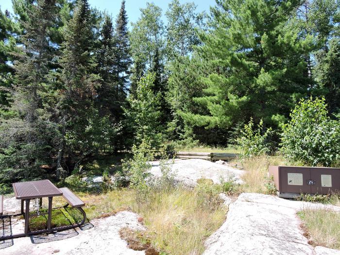 S6 - Granite Cliff NorthView of campsite