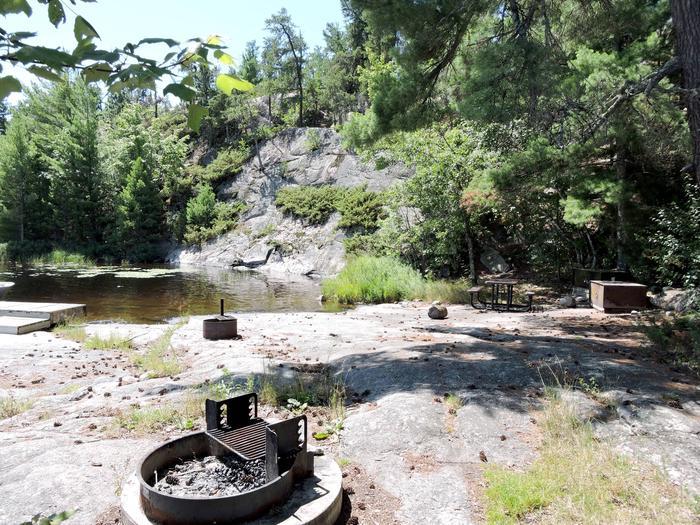 S7 - Granite Cliff SouthView of campsite