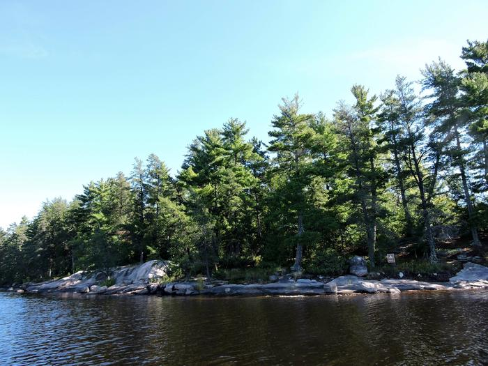 S10 - King PinView of campsite from the water