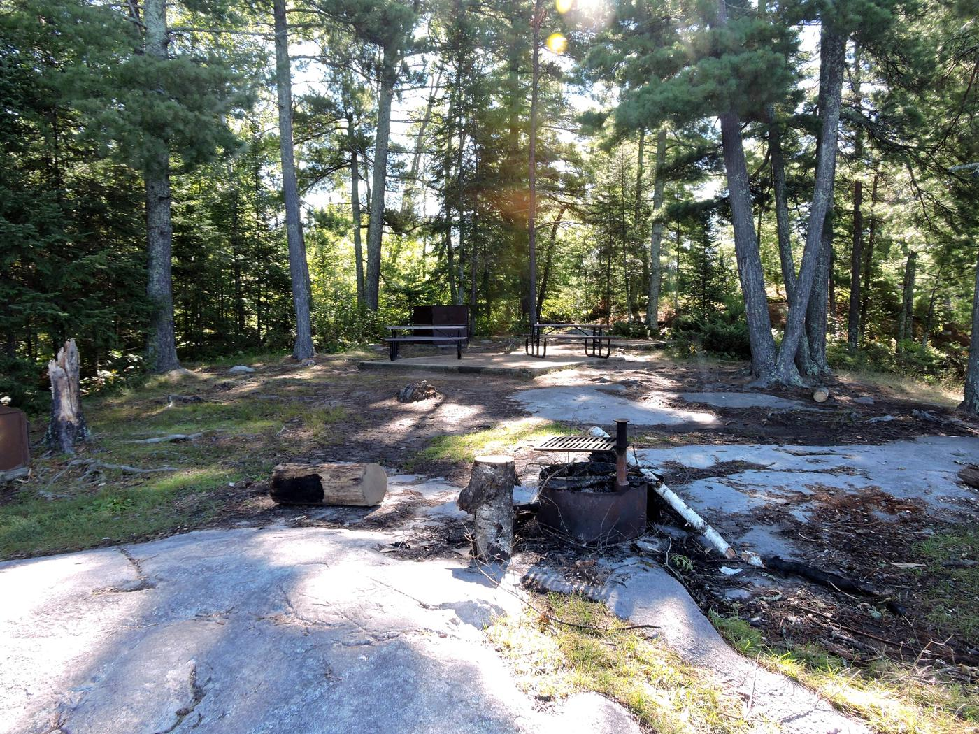 S10 - King PinView of campsite