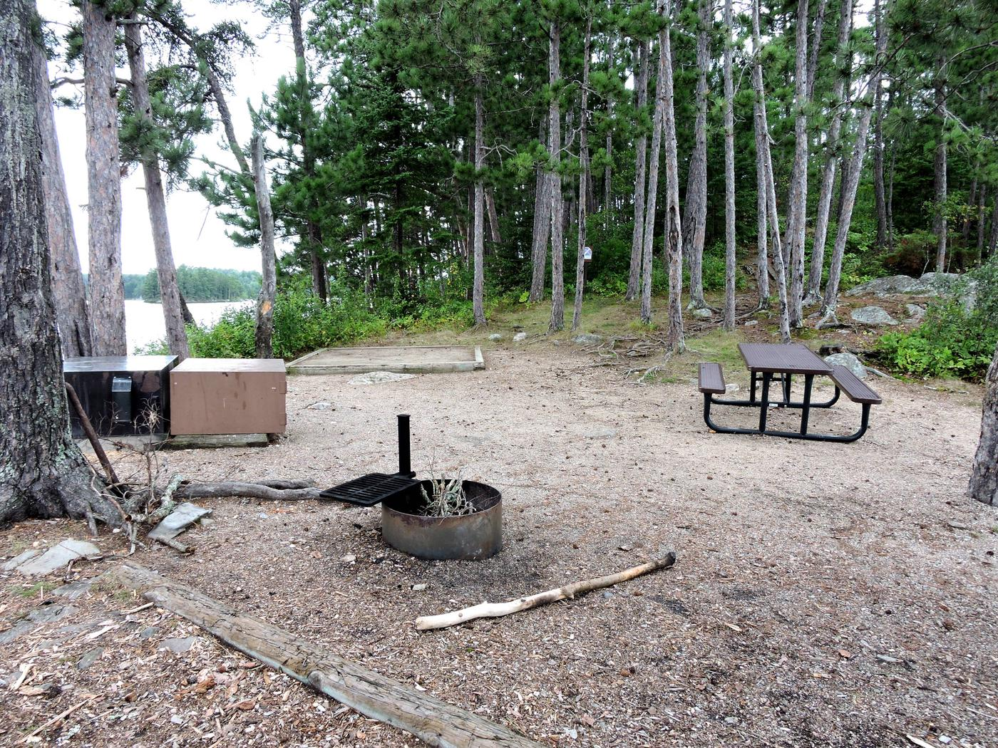 S15 - Reef IslandView of campsite