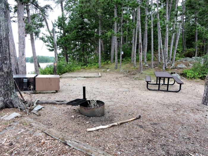 S15 - Reef IslandView of campsite