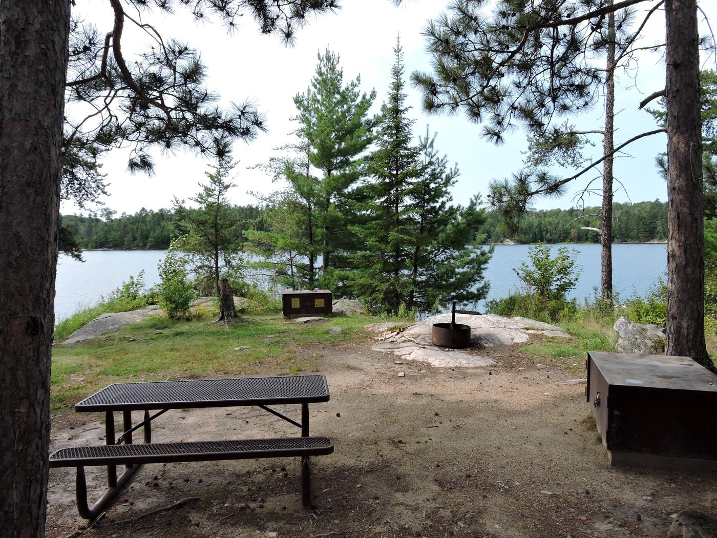S19 - Wolf IslandView looking out from campsite
