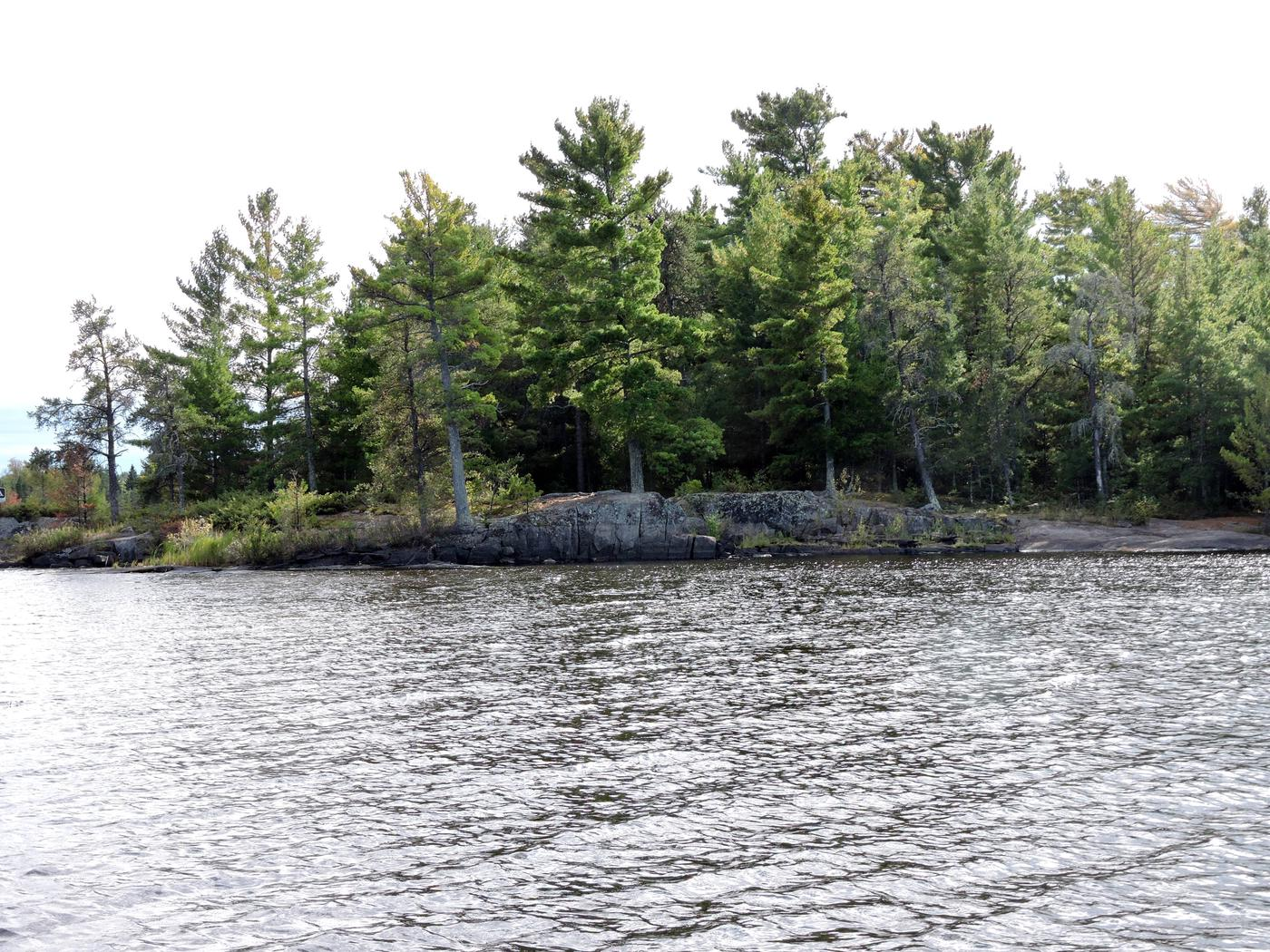 R1 - Alder CreekView of campsite from the water