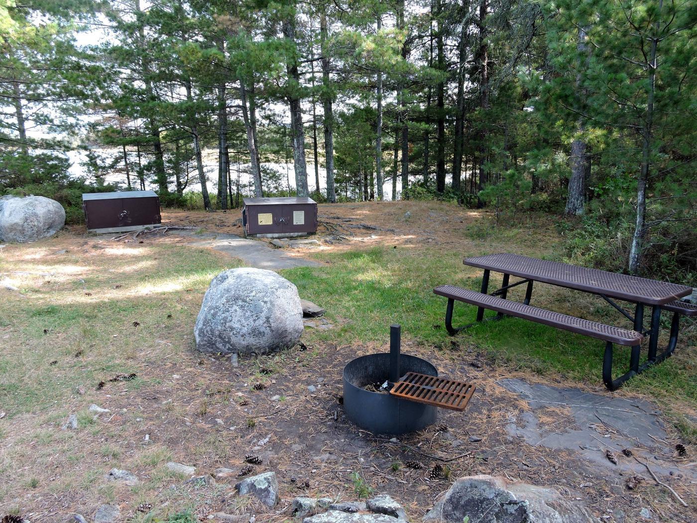R1 - Alder CreekView of campsite