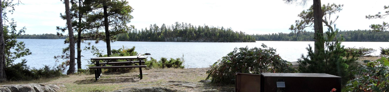 R11 - Dryweed IslandR11 - Dryweed Island campsite on Rainy Lake