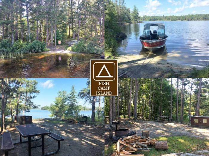 R13 - Fish Camp IslandR13 - Fish Camp Island campsite on Rainy Lake