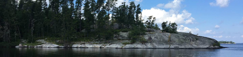 R14 - HansonR14 - Hanson campsite on Rainy Lake
