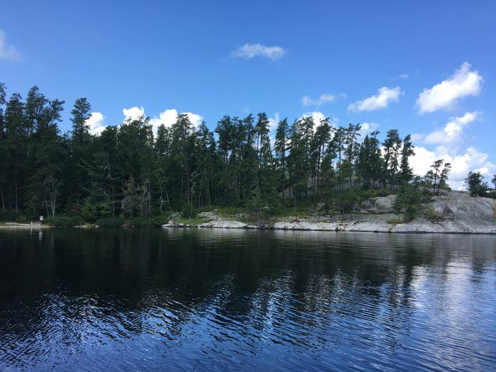 R14 - HansonView of campsite from the water