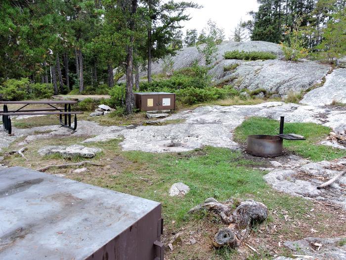 R14 - HansonView of campsite
