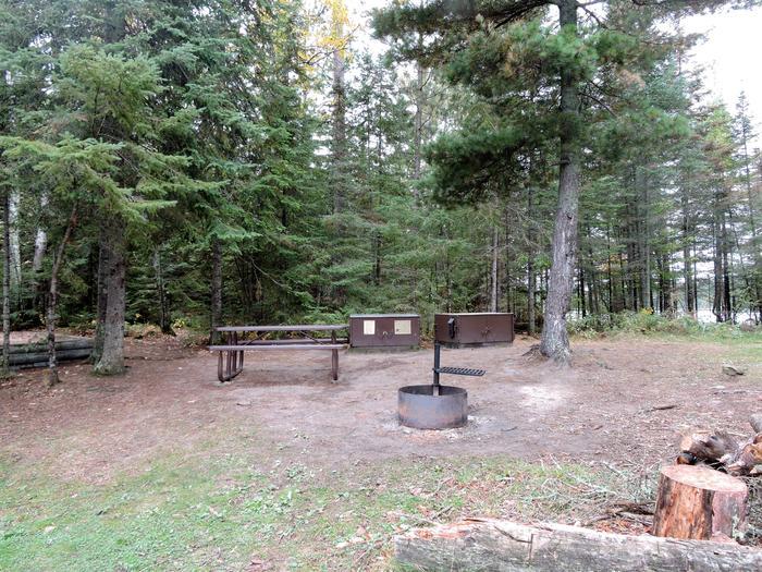 R18 - Little Finlander IslandView of campsite