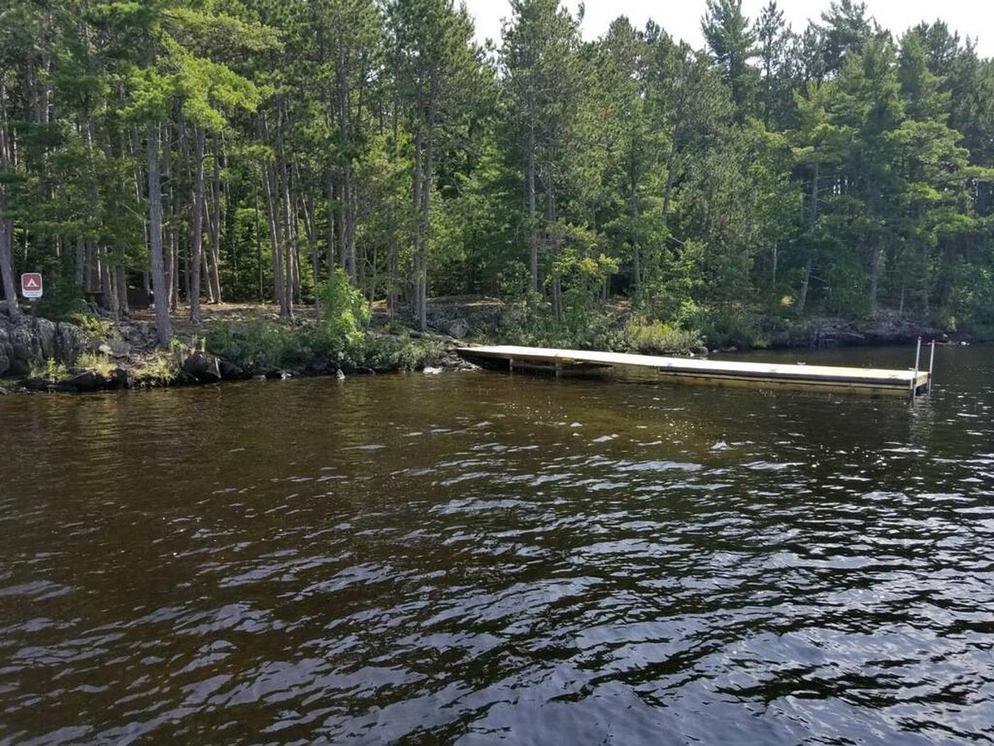 R19 - Logging CampView of campsite from the water